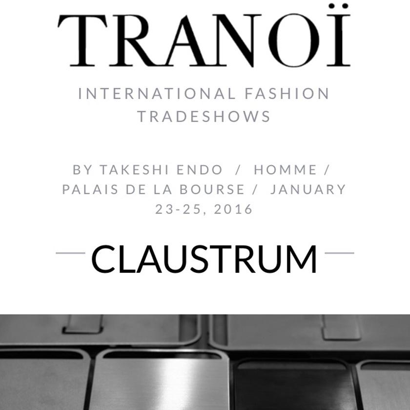 Tranoi AW16